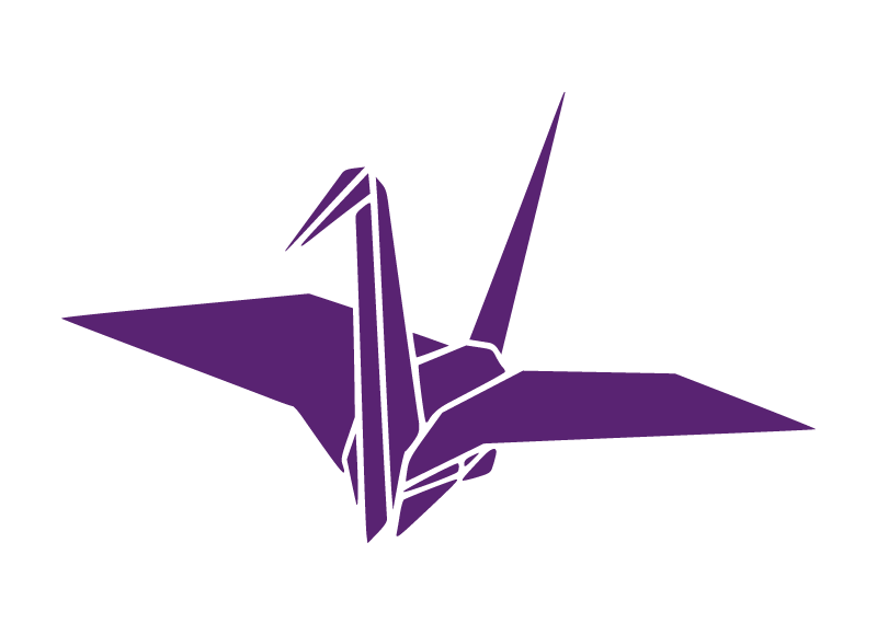折り紙の鶴イラスト
