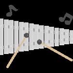鉄琴のイラスト