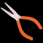 工具・ラジオペンチのイラスト