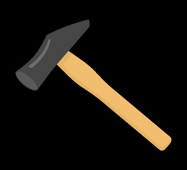 工具・金槌のイラスト