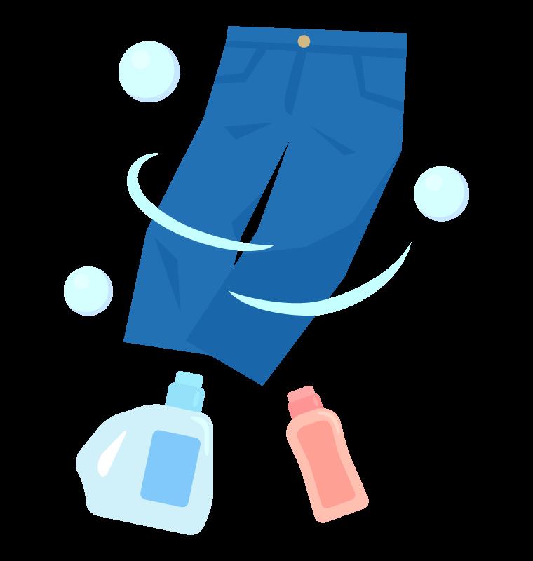 洗濯のイラスト02