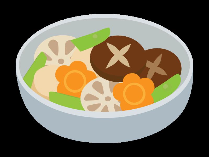 煮物のイラスト