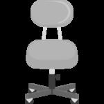 事務椅子のイラスト
