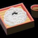 お蕎麦のイラスト