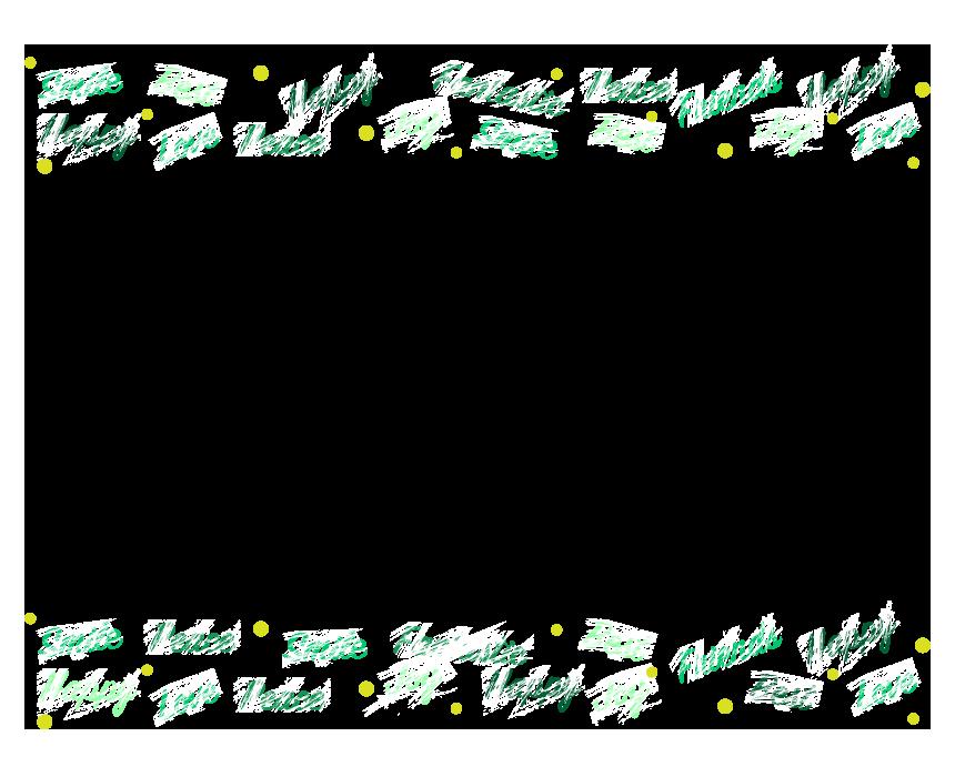 英単語のフレーム・飾り枠のイラスト