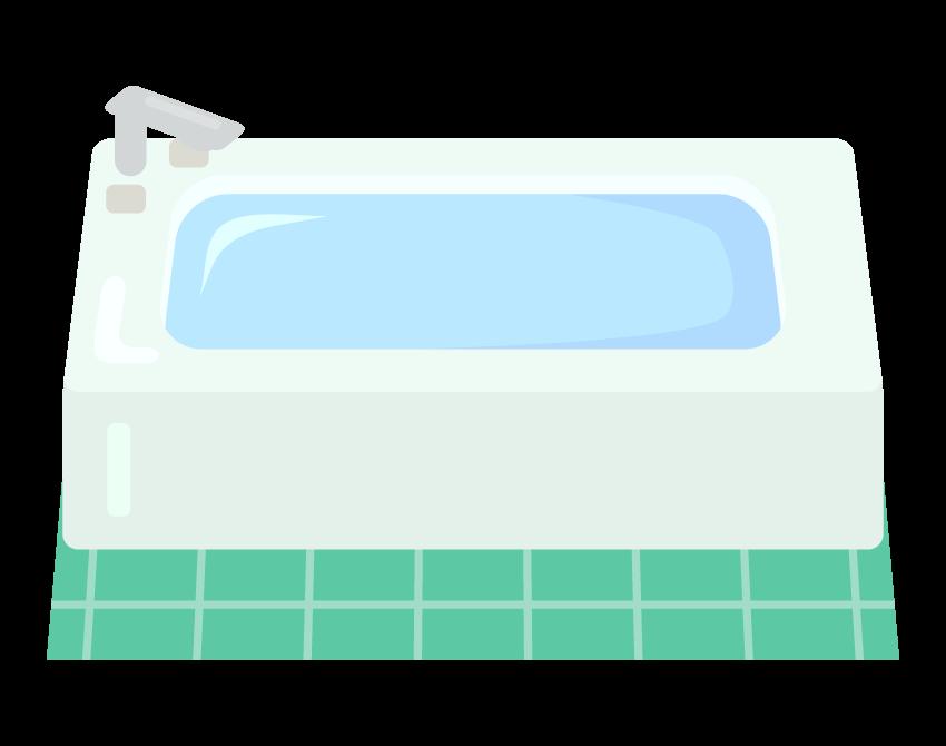 お風呂・浴槽のイラスト