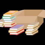 本の整理のイラスト