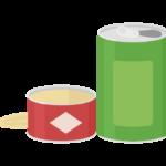空き缶のイラスト