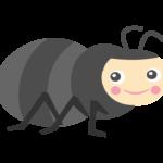 かわいい蟻さんのイラスト