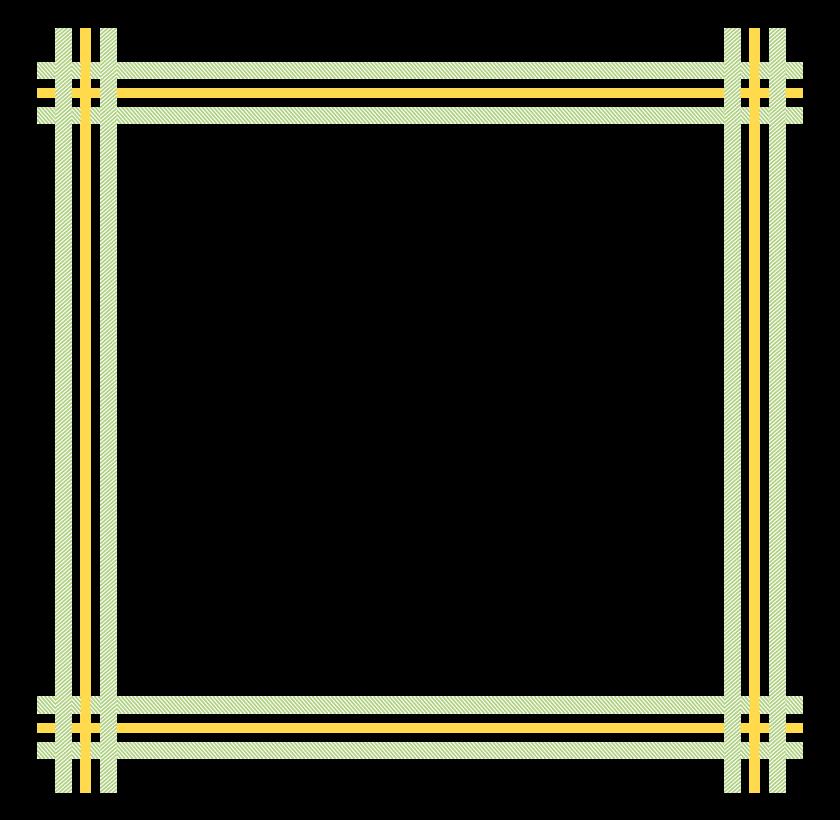 斜線でデザインされた線のフレーム・飾り枠のイラスト