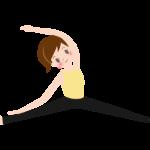 ストレッチ・体操のイラスト