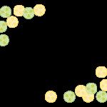 柑橘系フルーツのフレーム・飾り枠のイラスト