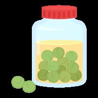 自家製の梅酒のイラスト