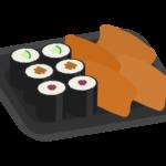 助六寿司のイラスト
