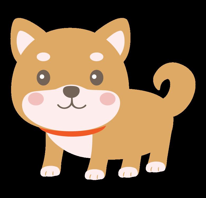 かわいい柴犬のイラスト