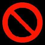 入場者制限のイラスト