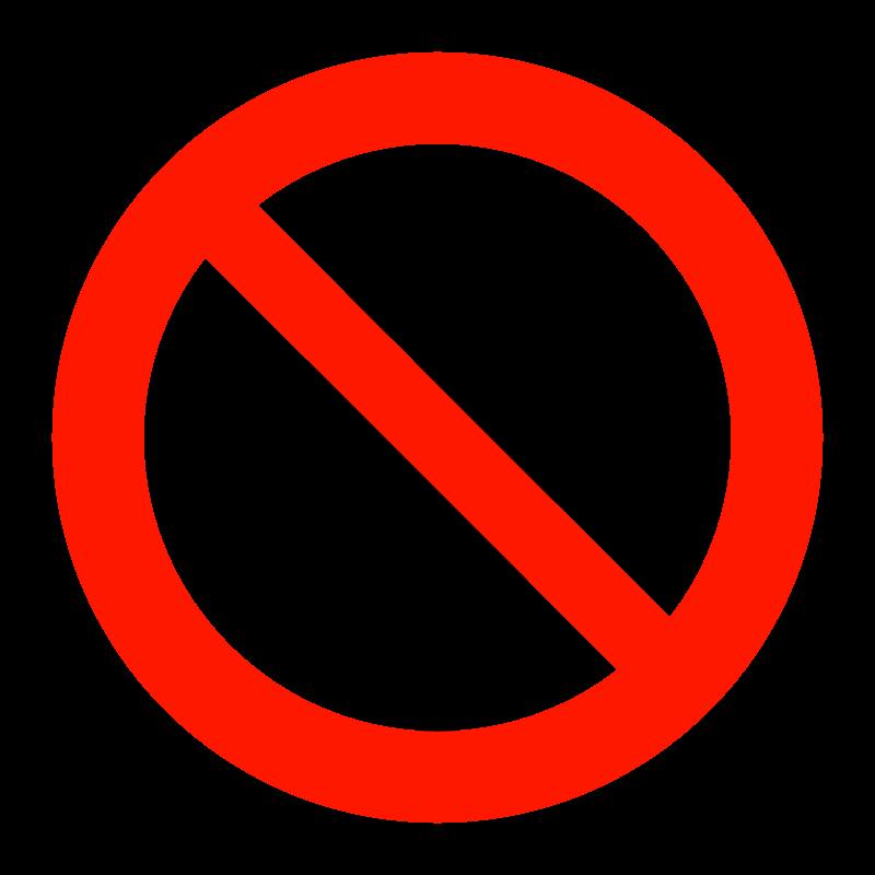 コンセントの使用・充電禁止のイラスト