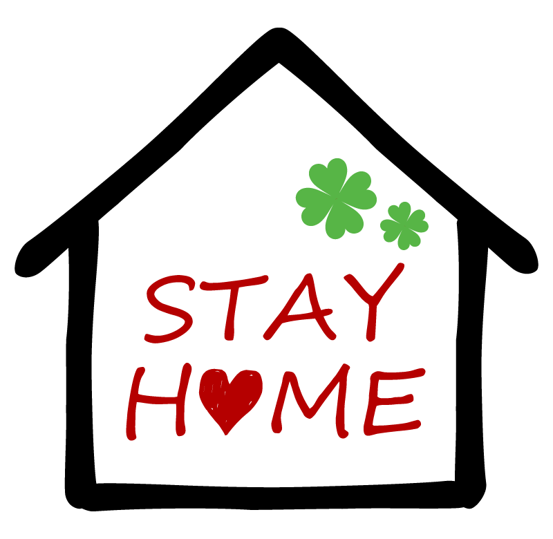 ステイホーム(STAY HOME)のイラスト