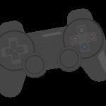 ゲームコントローラーのイラスト02