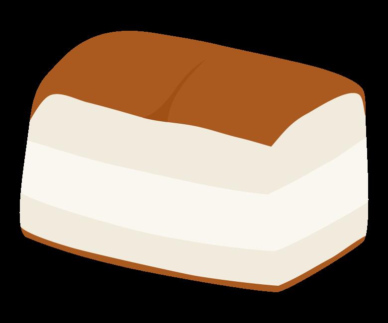 牛乳パンのイラスト