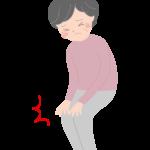 膝や関節の痛み(おばあちゃん)のイラスト