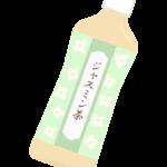 ペットボトルのジャスミン茶のイラスト02