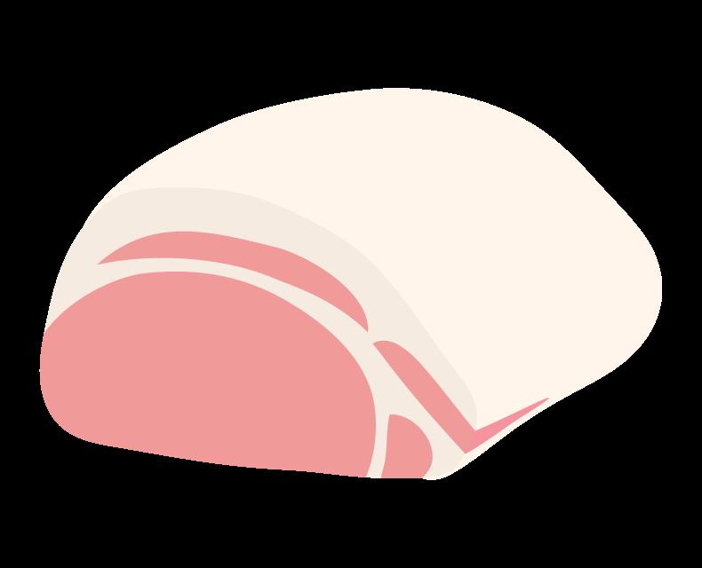豚ロースのイラスト