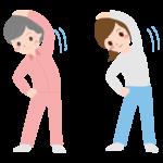 ラジオ体操のイラスト