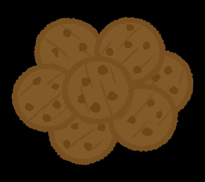 チョコクッキーのイラスト