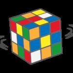 ルービックキューブのイラスト