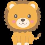 かわいいライオンのイラスト02