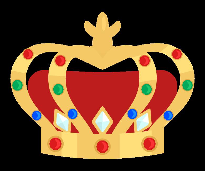 宝石の王冠のイラスト