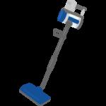 コードレスのサイクロン式掃除機のイラスト