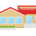 ファミリーレストランのイラスト02