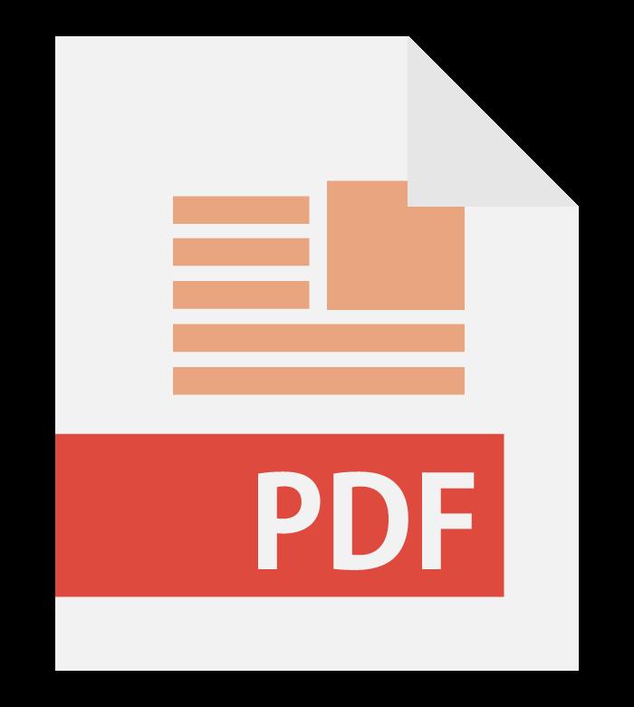 PDFファイルのイラスト