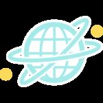 インターネット・グローバルネットワークのイラスト