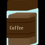 インスタントコーヒーのイラスト