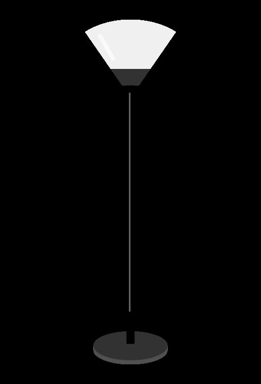 フロアライトのイラスト02