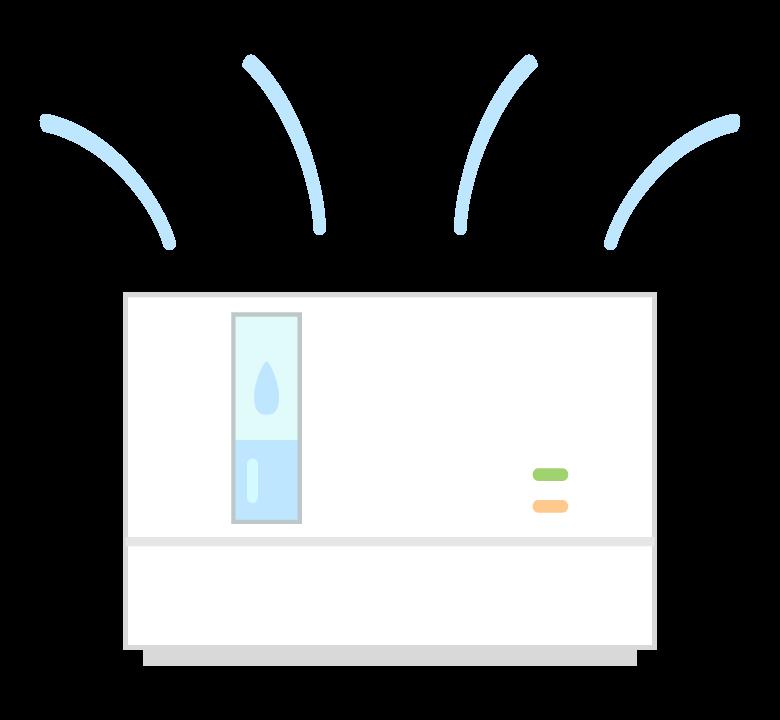 除湿器のイラスト