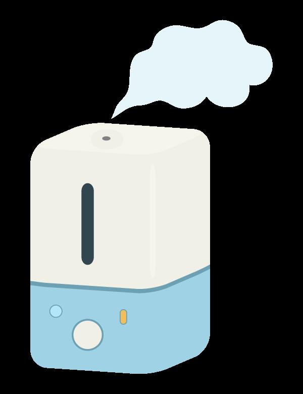 加湿器のイラスト