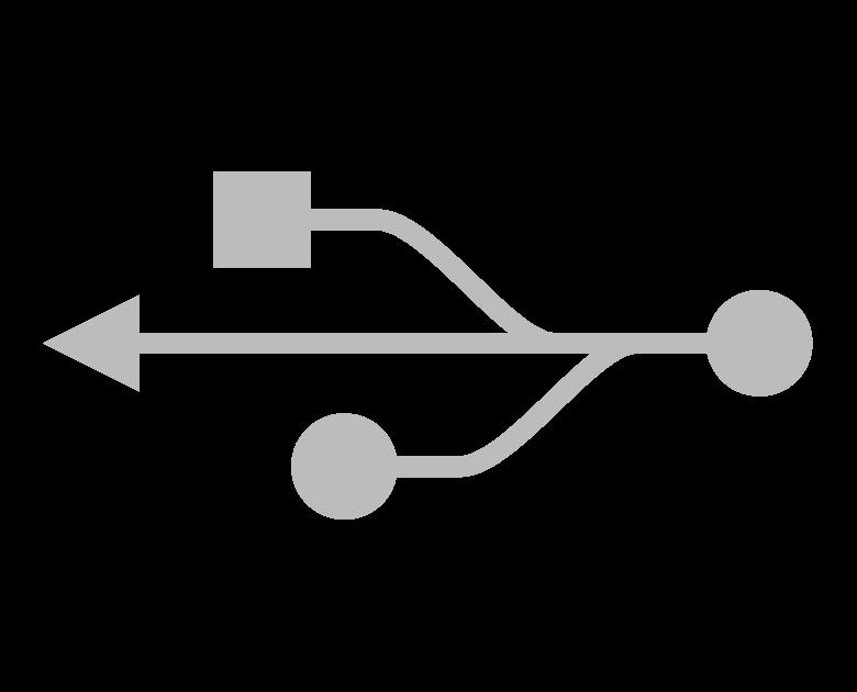 USBマークのイラスト