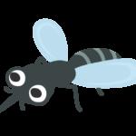 かわいい蚊のイラスト