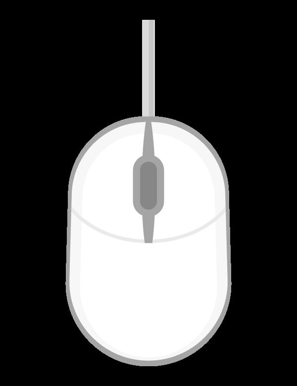 PCマウスのイラスト