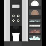 お店のコーヒーメーカーのイラスト