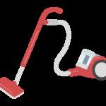 サイクロン式掃除機のイラスト