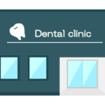 歯医者さん・デンタルクリニックのイラスト