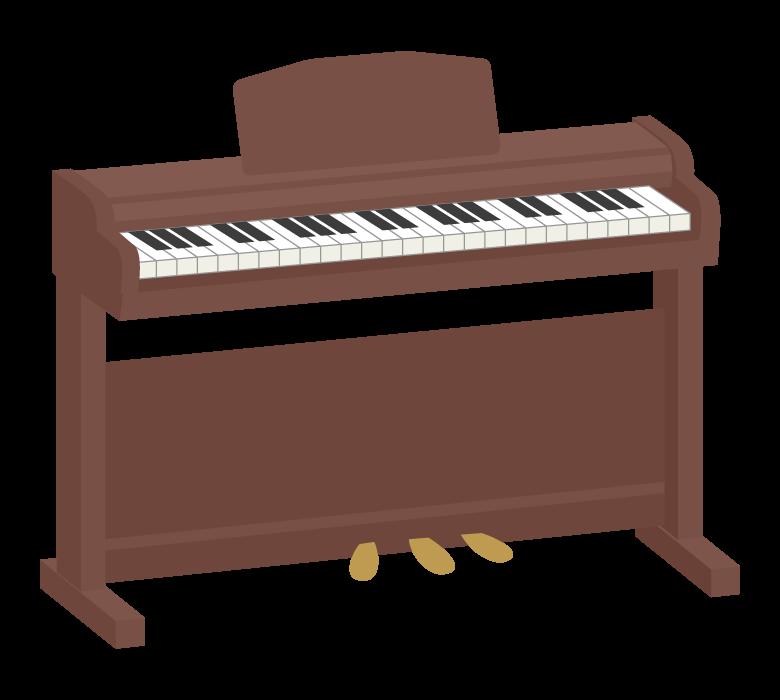 電子ピアノのイラスト