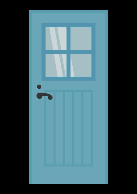 おしゃれなドアのイラスト