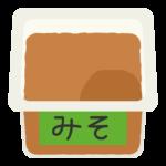 お味噌のイラスト