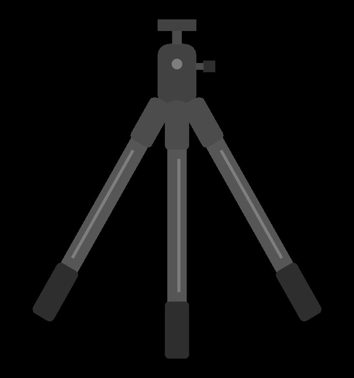 三脚のイラスト